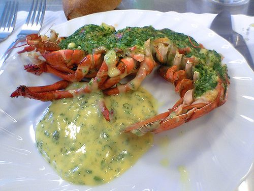 Lobster and Garlic Butter